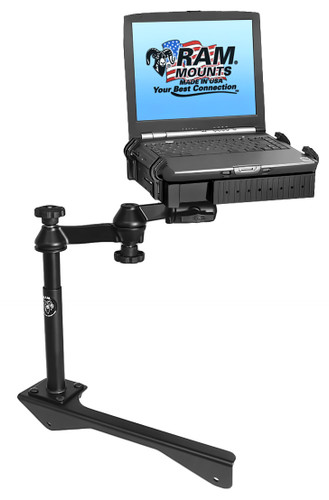No-Drill™ Laptop Mount for the '07-'09 Chrysler Aspen & '04-09 Dodge Durango