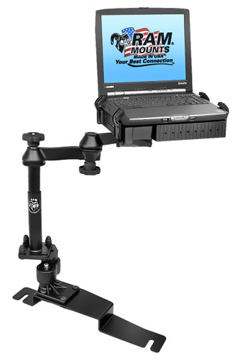Laptop mount for Police Interceptor