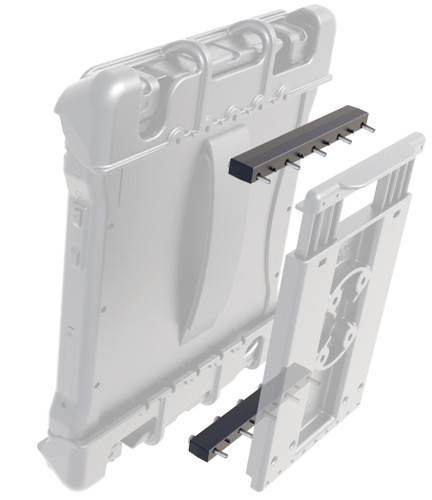 Half-inch risers for Tab-Tite, Tab-Lock and GDS RAM Mount Docks