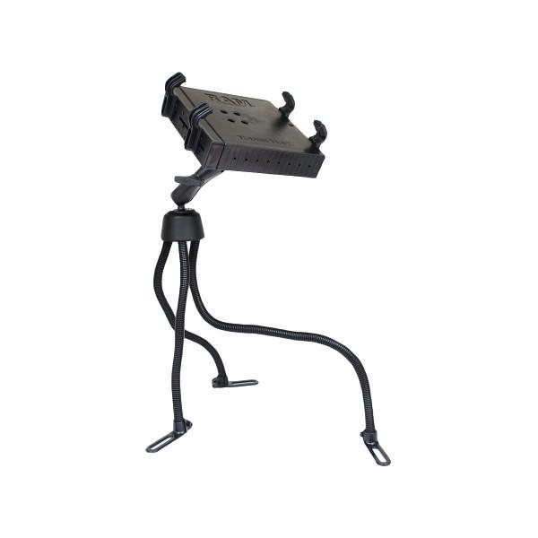 """RAM Pod™ III Vehicle Mount with Double Ball Mount (1.5"""" Ball) & Universal Tough-Tray™ Laptop Holder (RAM-316-3BA1U)"""