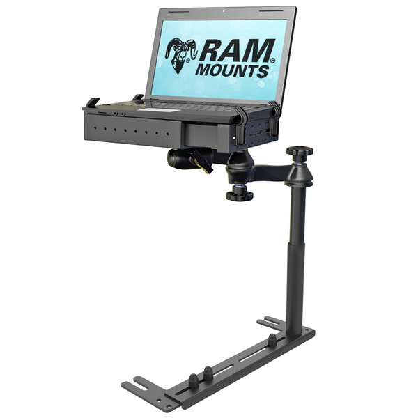Universal no-drill mounting solution