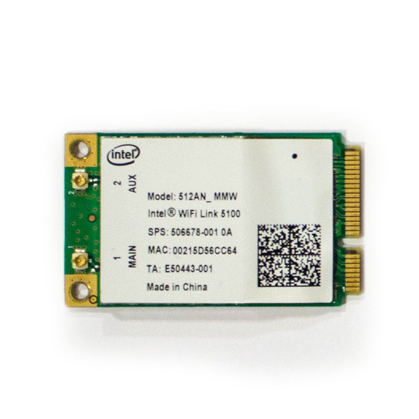 Panasonic CF-30 and CF-52 Intel WiFi Card