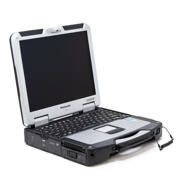 Panasonic Toughbook CF-31 MK2 left side with back lit keyboard