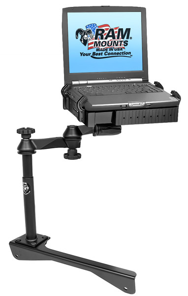 No-Drill™ Laptop Mount for the '06-'10 Dodge Charger & '06-'11 Dodge Magnum Police Package