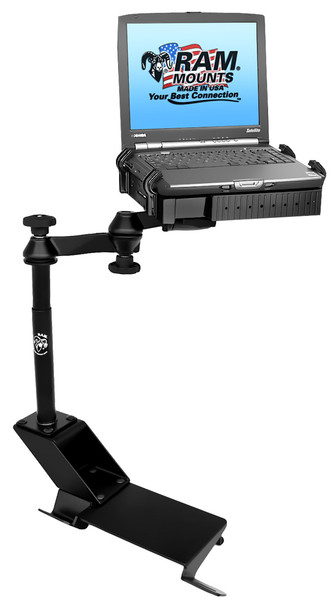 No-Drill™ Laptop Mount for the Ford Expedition, F-150, F-150 Heritage, F-250 Light Duty & Windstar