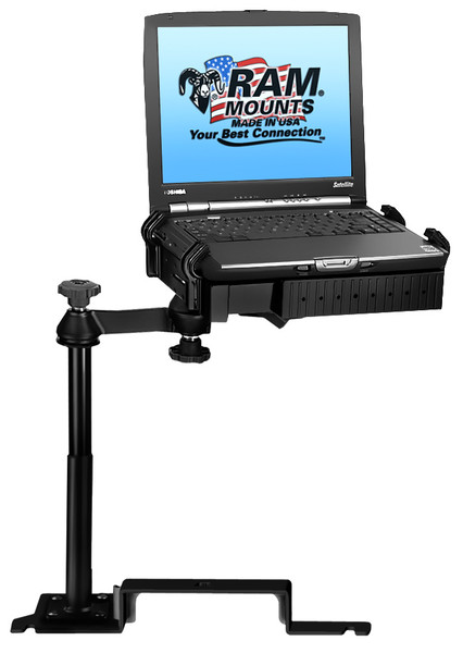 No-Drill™ Laptop Mount for the '13-'19 Police Interceptor Utility, '11-'19 Ford Explorer  & more