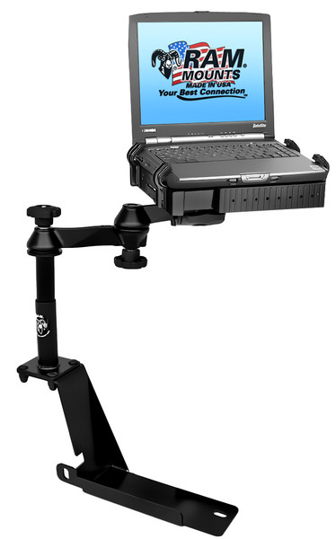 No-Drill™ Laptop Mount for the '02-'10 Ford Explorer, '07-'10 Explorer Sport Trac & '02-'10 Mercury Mountaineer