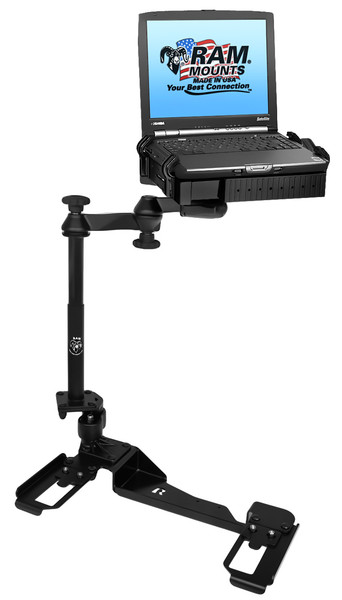 No-Drill™ Laptop Mount for the '06-'16 Chevrolet Impala Police Package