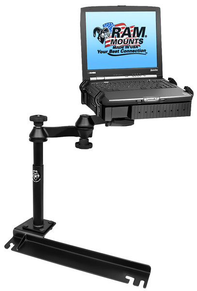 No-Drill™ Laptop Mount for the Chrysler Town & Country, Dodge Grand Caravan, Ford Transit Connect & More
