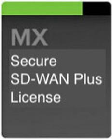 Meraki MX100 Secure SD-WAN Plus License, 3 Years