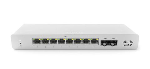 Meraki MS120-8LP 1G L2 Cloud Managed 8x GigE 64W PoE Switch