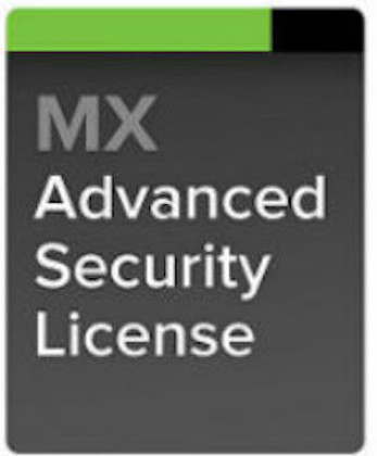 Meraki MX80 Advanced Security License, 3 Years