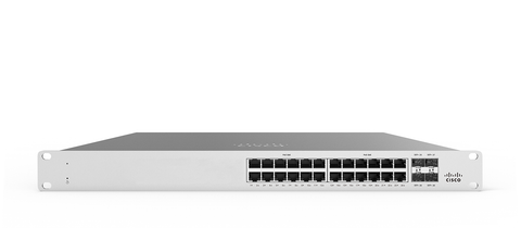 Meraki MS125-24 L2 Stackable Cloud Managed 24X GigE Switch