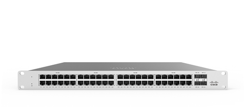 Meraki MS125-48 L2 Stackable Cloud Managed 48X GigE Switch