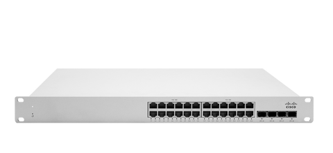 Meraki MS225-24 L2 Stackable Cloud Managed 24x GigE Switch