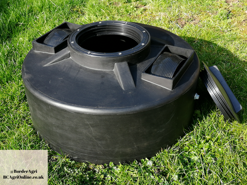 Black 50 Litre 2 Wheel Lick Feeder. To feed molasses/ liquid feed to livestock, sheep, cows, cattle, beef, dairy.