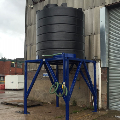 10,000 Litre Molasses Tank With Frame
