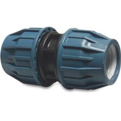 MDPE 20mm straight compression coupler