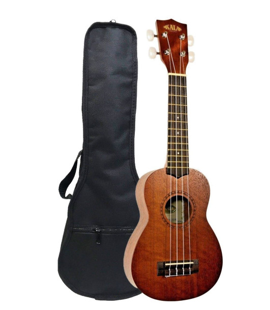 Kala KA-15S Satin Mah Finish Soprano Ukulele KA15S with Gig Bag