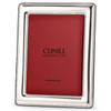 Engravable 'Pearls' 5x7 Non-Tarnish Sterling Silver Picture Frame