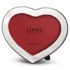 Cunill Engravable Heart 3x5 Sterling Silver Picture Frame