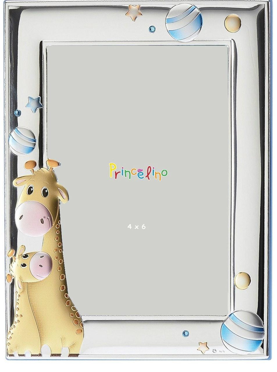 Silver Plated Giraffe Design Photo Frame