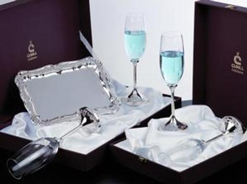 Caroline Champagne Goblet Set #1 - Sterling