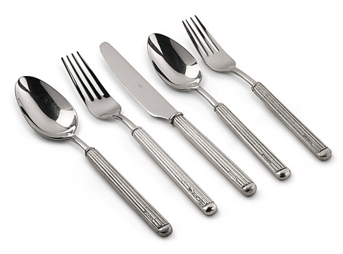 Val Peltro Vittoriale Pewter 5PC Flatware Set