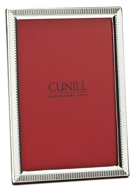 'Lincoln' 5x7 Non-Tarnish Sterling Silver Picture Frame