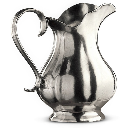 Fluted 78 Oz Pewter Pitcher