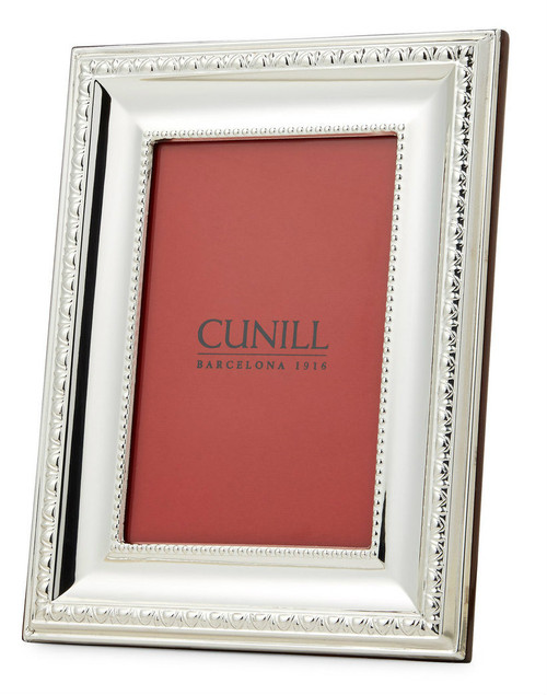 Engravable 'Prestige' 8x10 Non-Tarnish Sterling Silver Picture Frame