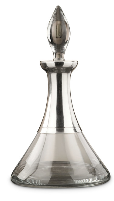 Palace Pewter-Glass Decanter