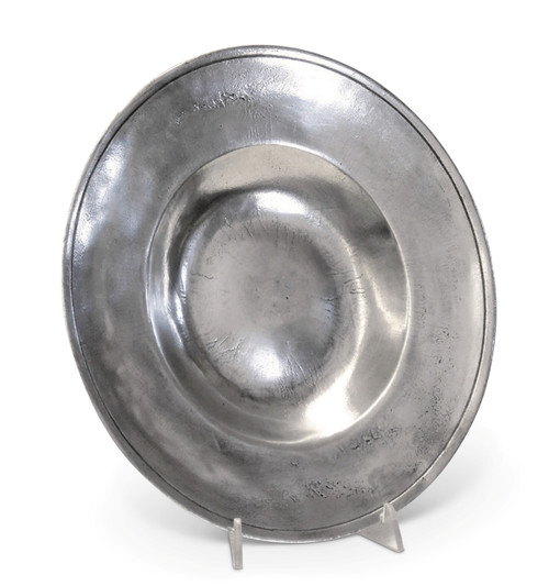Pewter Brittany Dish Diameter 12 inches