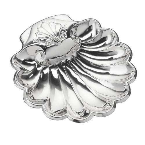 "CUNILL Sterling Silver Shell (4.5"" x 4"")"