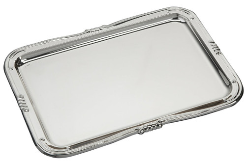 """Sterling Silver Large Roma Tray (8"""" x 5.5"""")"""