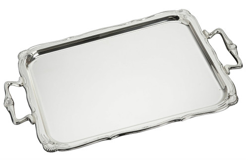 "Sterling Silver Shells Tray (13"" x 8.5"")"