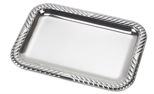 "Sterling Silver Gallons Tray (6.5"" x 5"")"