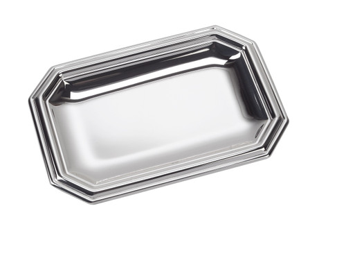 "Sterling Silver London Tray (4""x3"")"