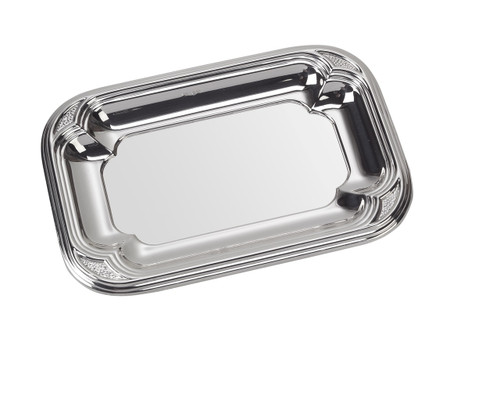 "Sterling Silver Berlin Tray (4"" x 3"")"