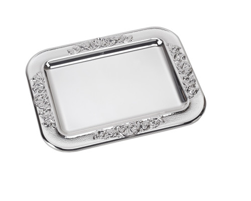 """Sterling Silver Vintage Tray (10""""x8"""")"""