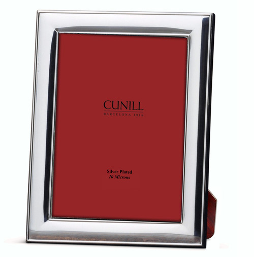 Cunill Classic 5x7 Silver Plated Picture Frame