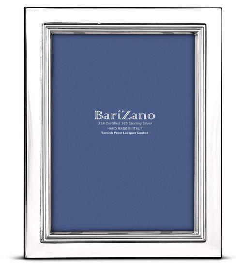 Engravable 'Lisbon' 5x7 Non-Tarnish 925 Sterling Silver Frame