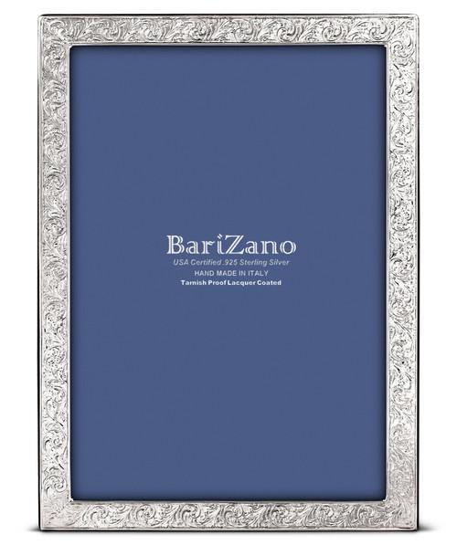 'Baroque' 5x7 Non-Tarnish 925 Sterling Silver Frame