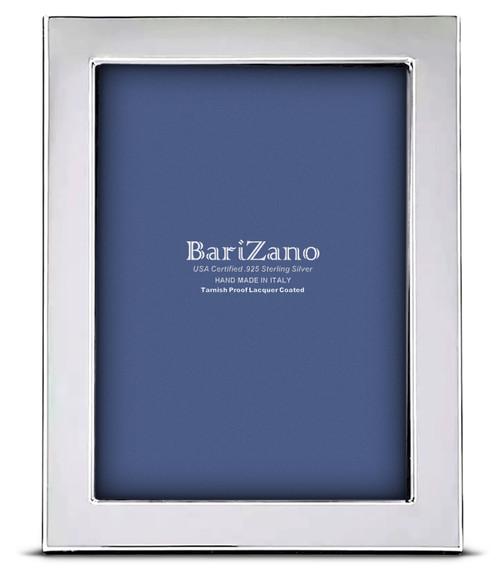 'Ferrara' 5x7 Non-Tarnish 925 Sterling Silver Frame
