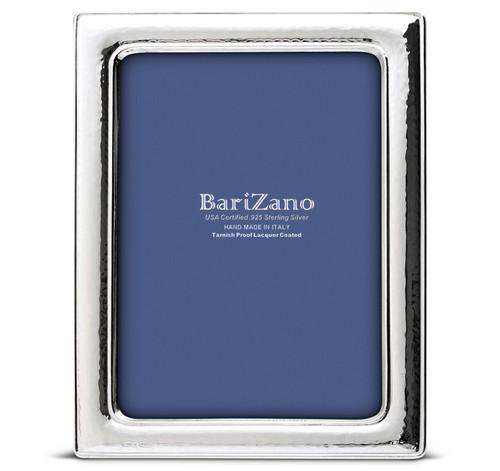 'Blacksmith' 4x6 Non-Tarnish 925 Sterling Silver Frame