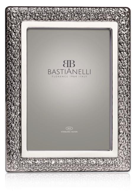 Bastianelli 'Boboli' 5x7 Sterling Silver Picture Frame