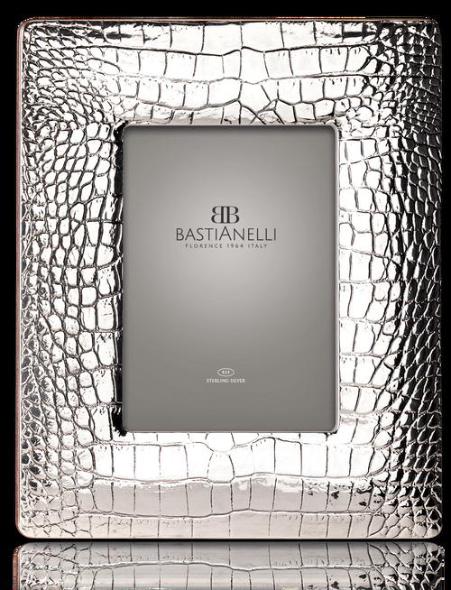 Bastianelli 'Cocco' 5x7 Sterling Silver Picture Frame