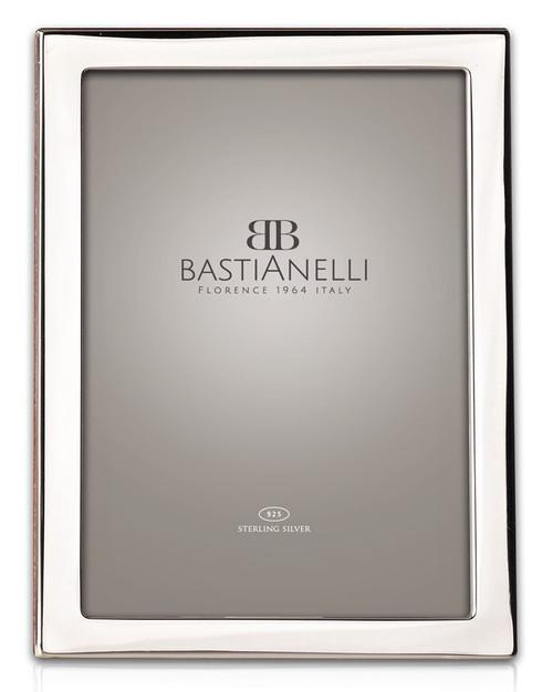 Bastianelli 'Quadra' 5x7 Sterling Silver Picture Frame