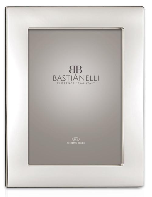 Bastianelli 'Piana' 5x7 Sterling Silver Picture Frame