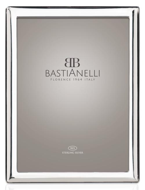 Bastianelli 'Liscia Convex' 5x7 Sterling Silver Picture Frame